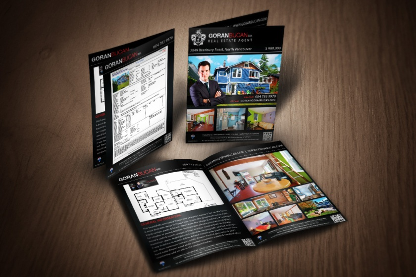 Real Estate Feature Sheet Designs