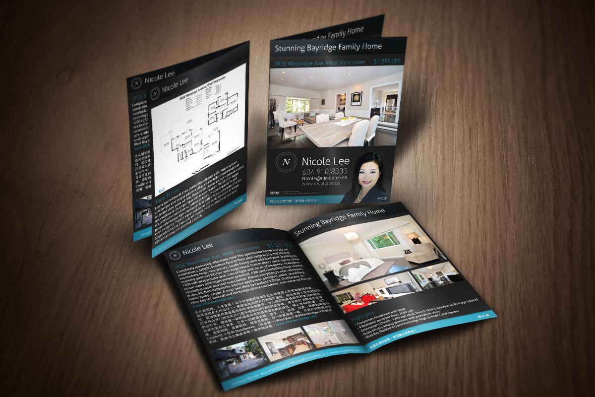 Real Estate Feature Sheet Designs Steve Feng