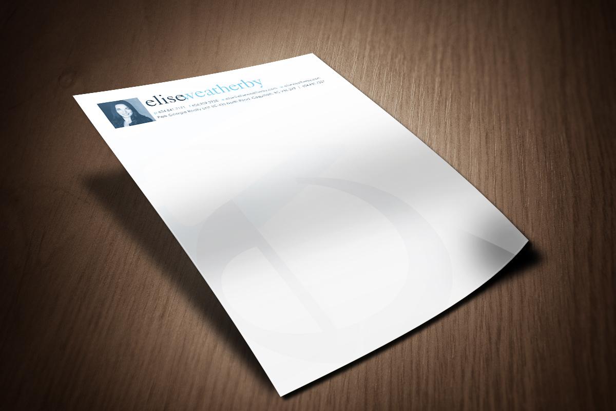 word 2013 letterhead